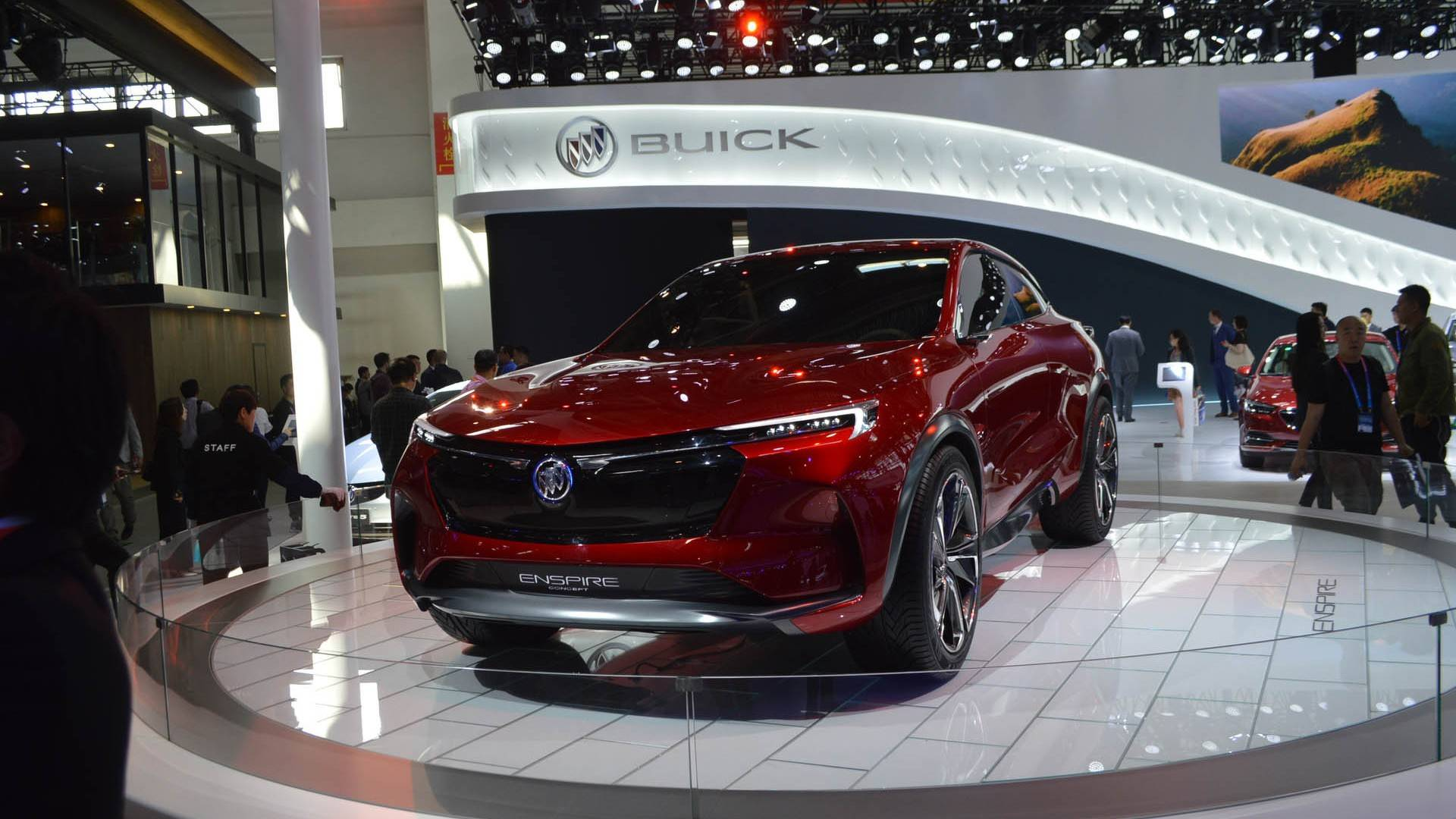 Buick Enspire — потрясающий дизайн и прогрессивные технологии от старейшей американской марки