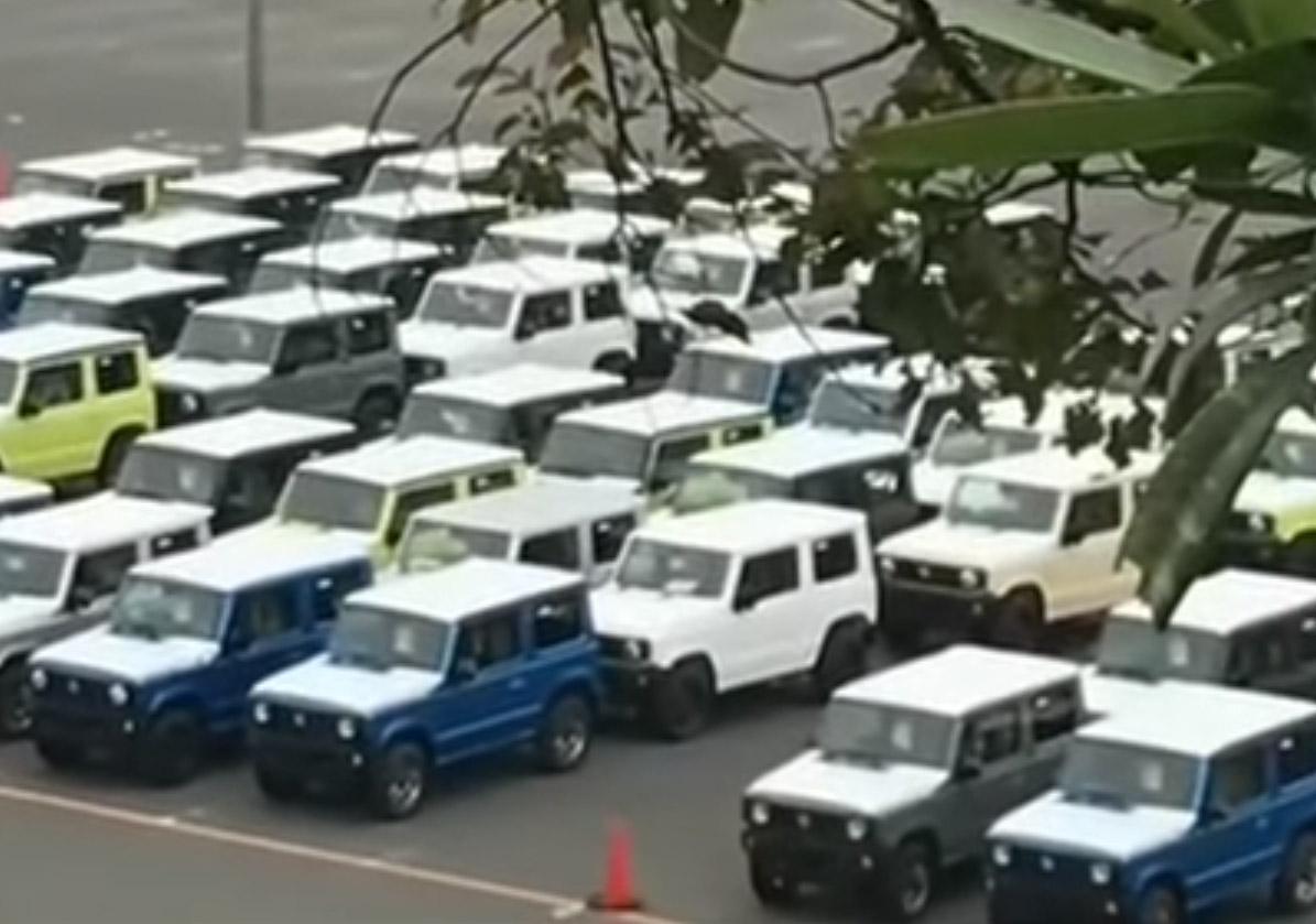 Suzuki Jimny без шума сменил поколение (Видео)