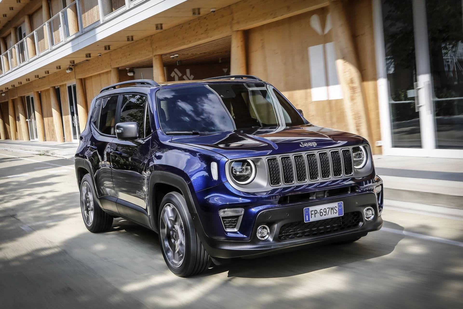 Jeep Renegade 2019 представили во всех подробностях