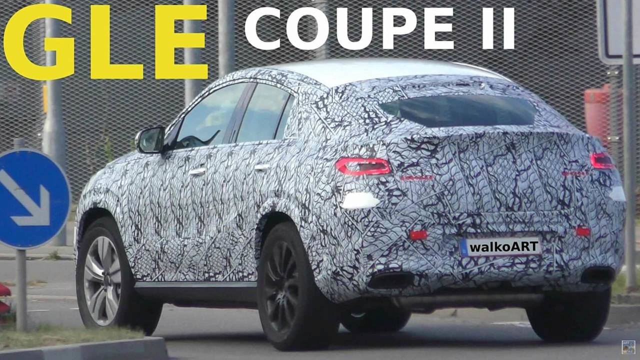 Mercedes GLE Coupe тоже готовится к полному обновлению