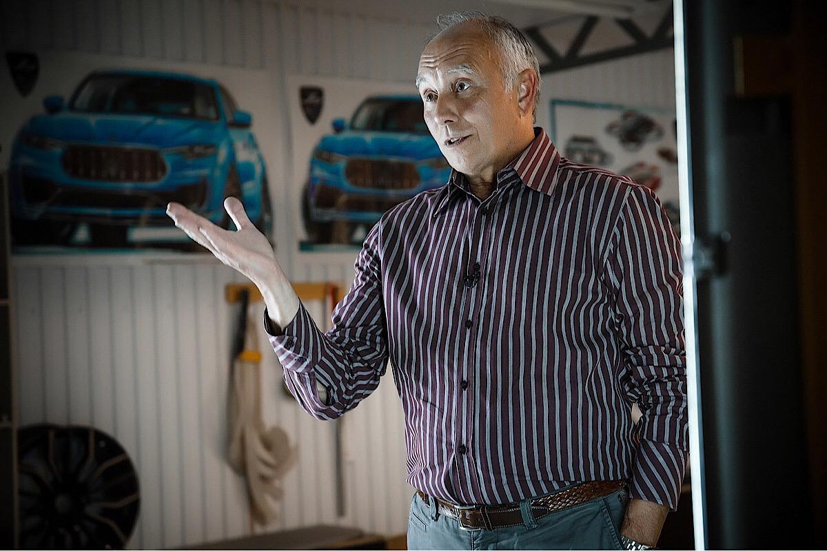 Владимир Ярцев - создатель дизайна ВАЗ 2110