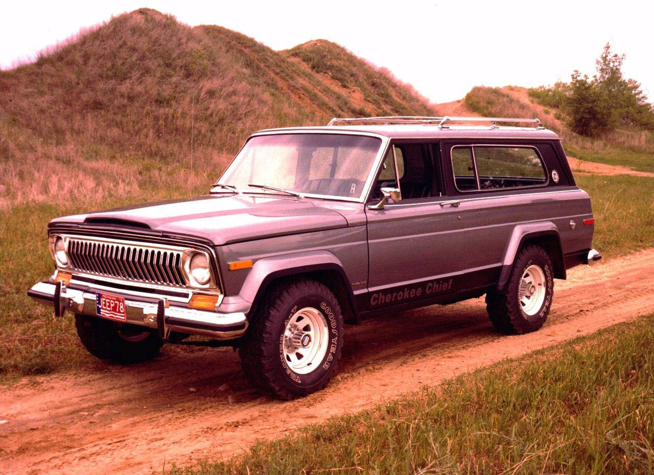 Jeep Cherokee Chief 1975