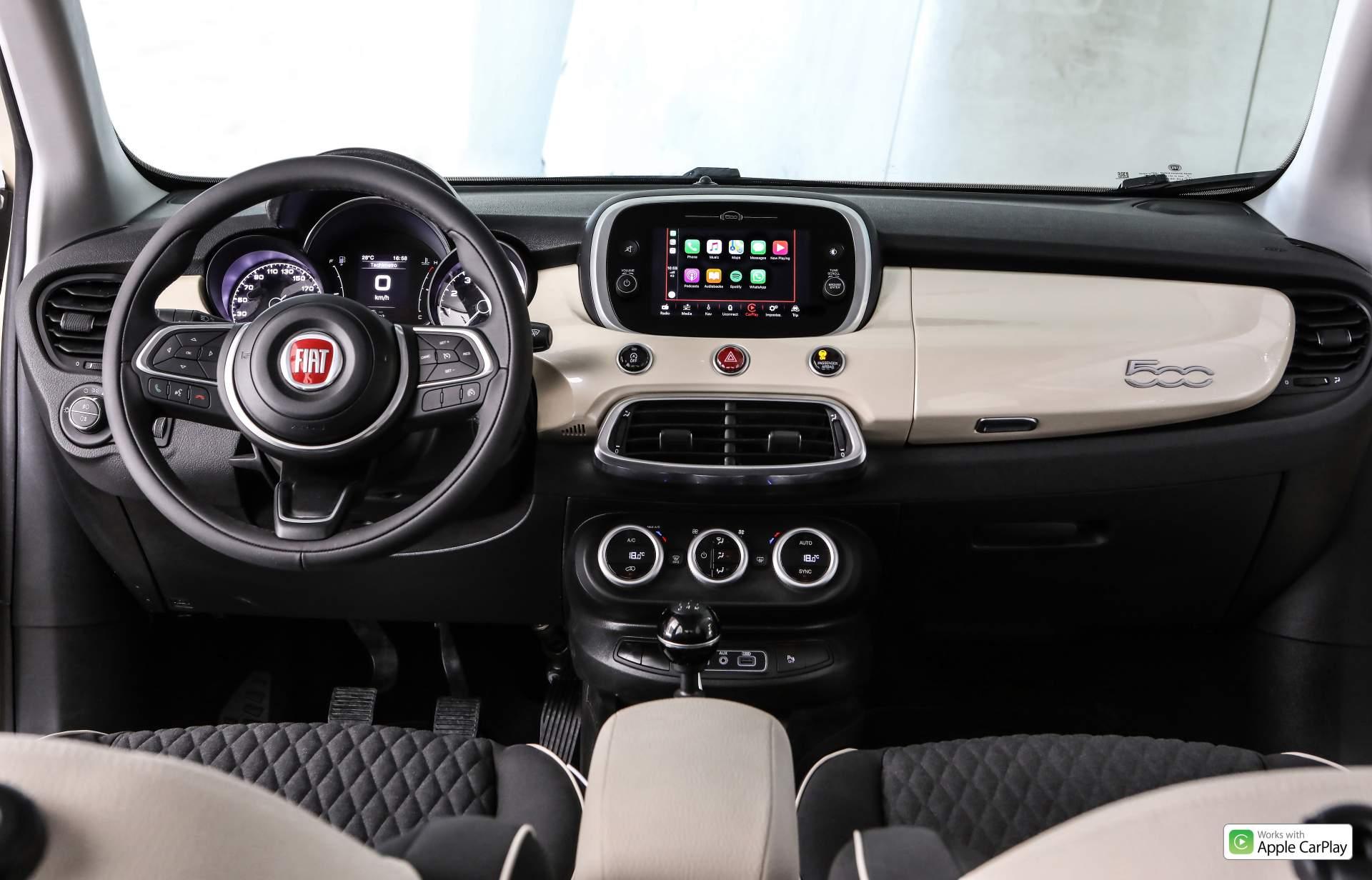Fiat 500X пережил рестайлинг