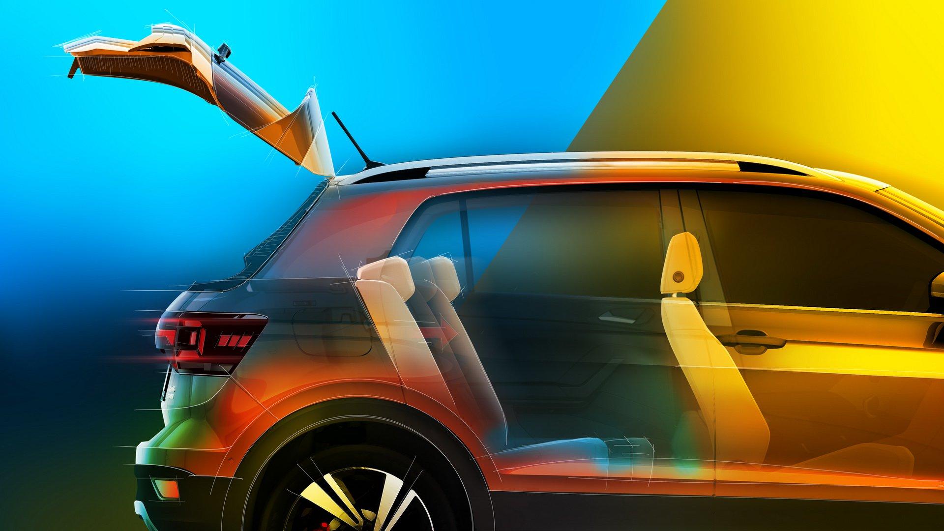 Volkswagen T-Cross порадует своей вместительностью