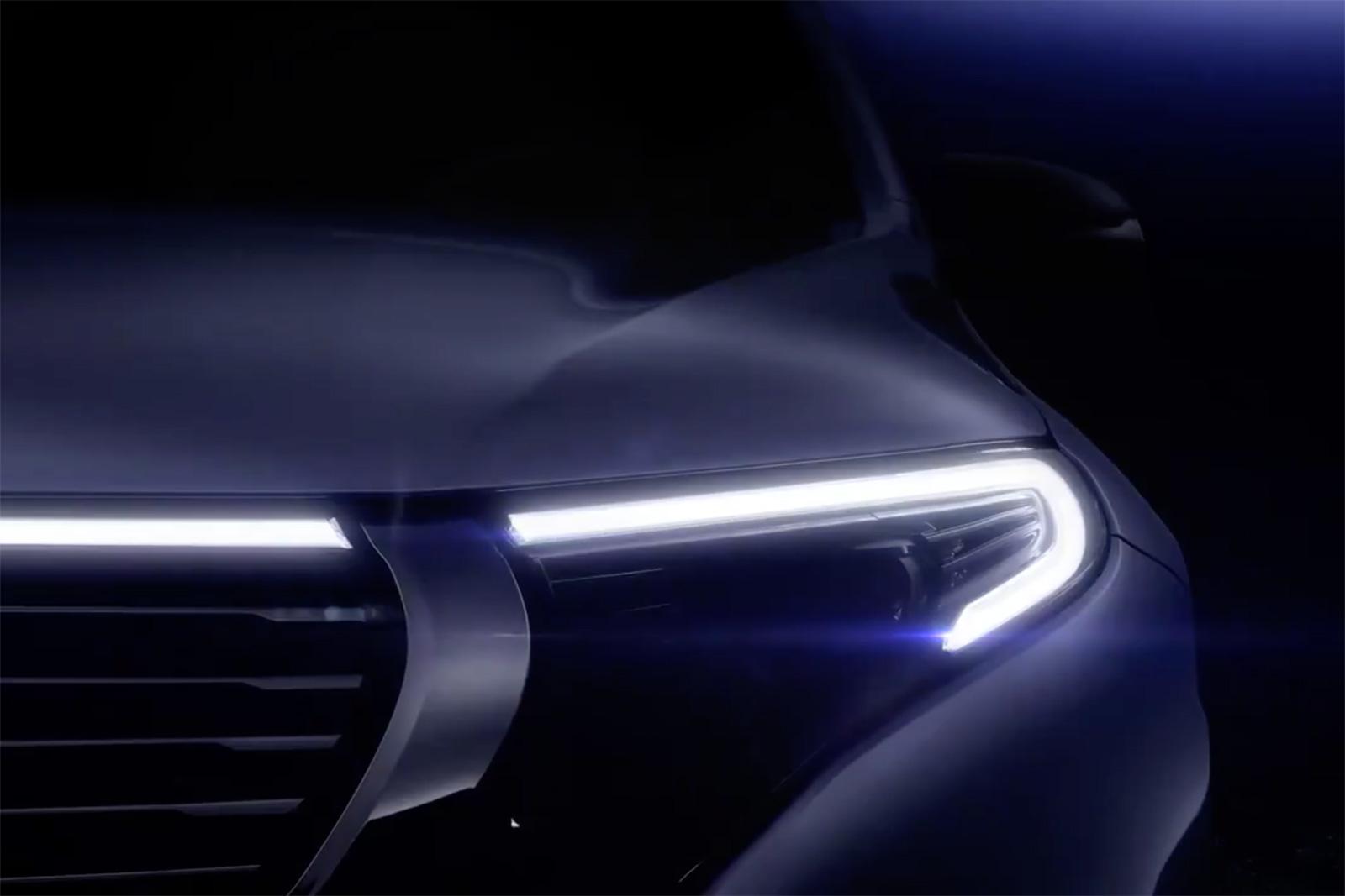 Mercedes EQC готовится вступить в схватку электрокроссоверов
