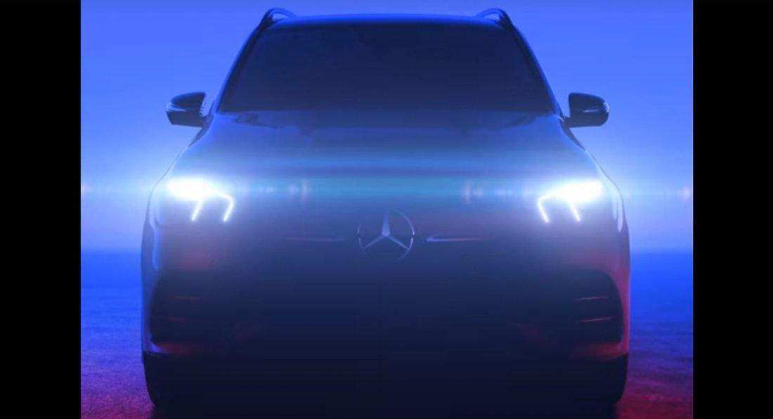 Mercedes-Benz GLE 2019 показал спортивное лицо (Видео)