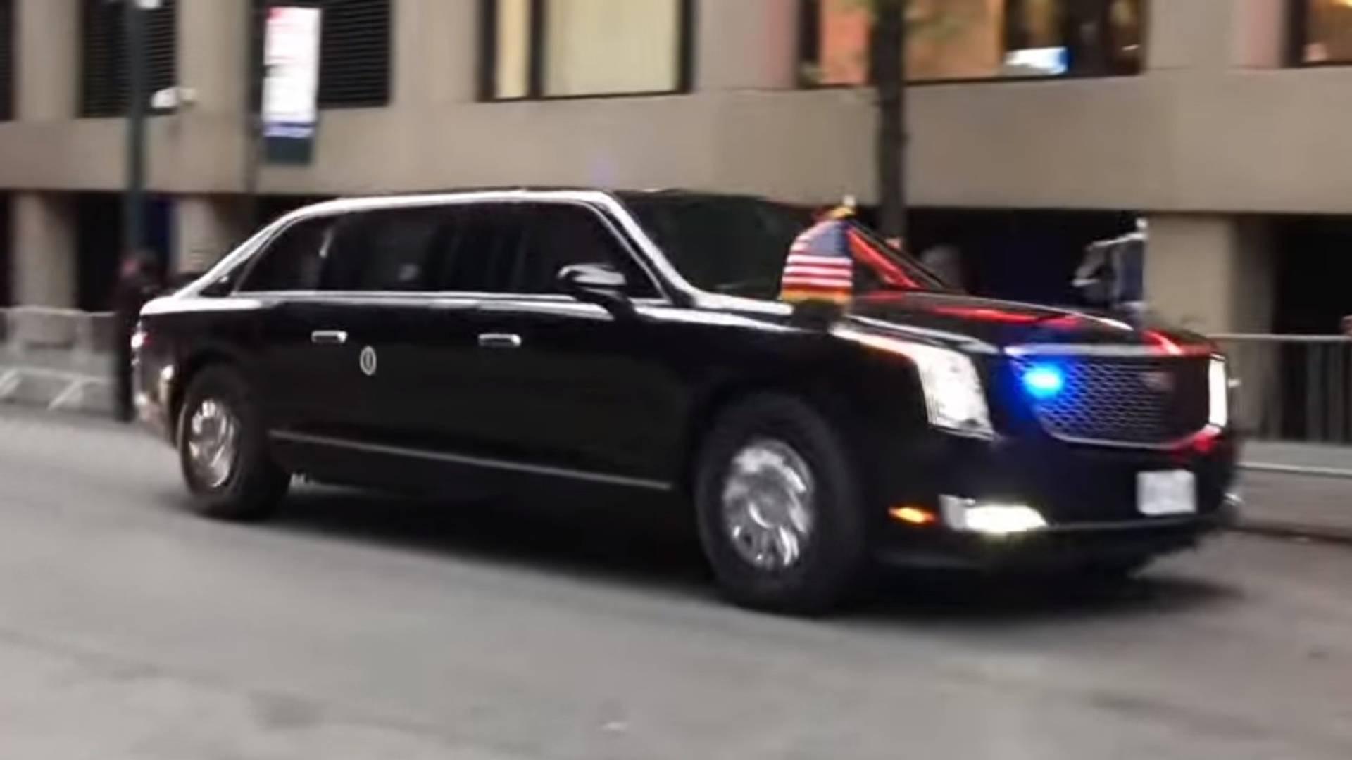 Лимузин Трампа «Beast»: так выглядит главный автомобиль США