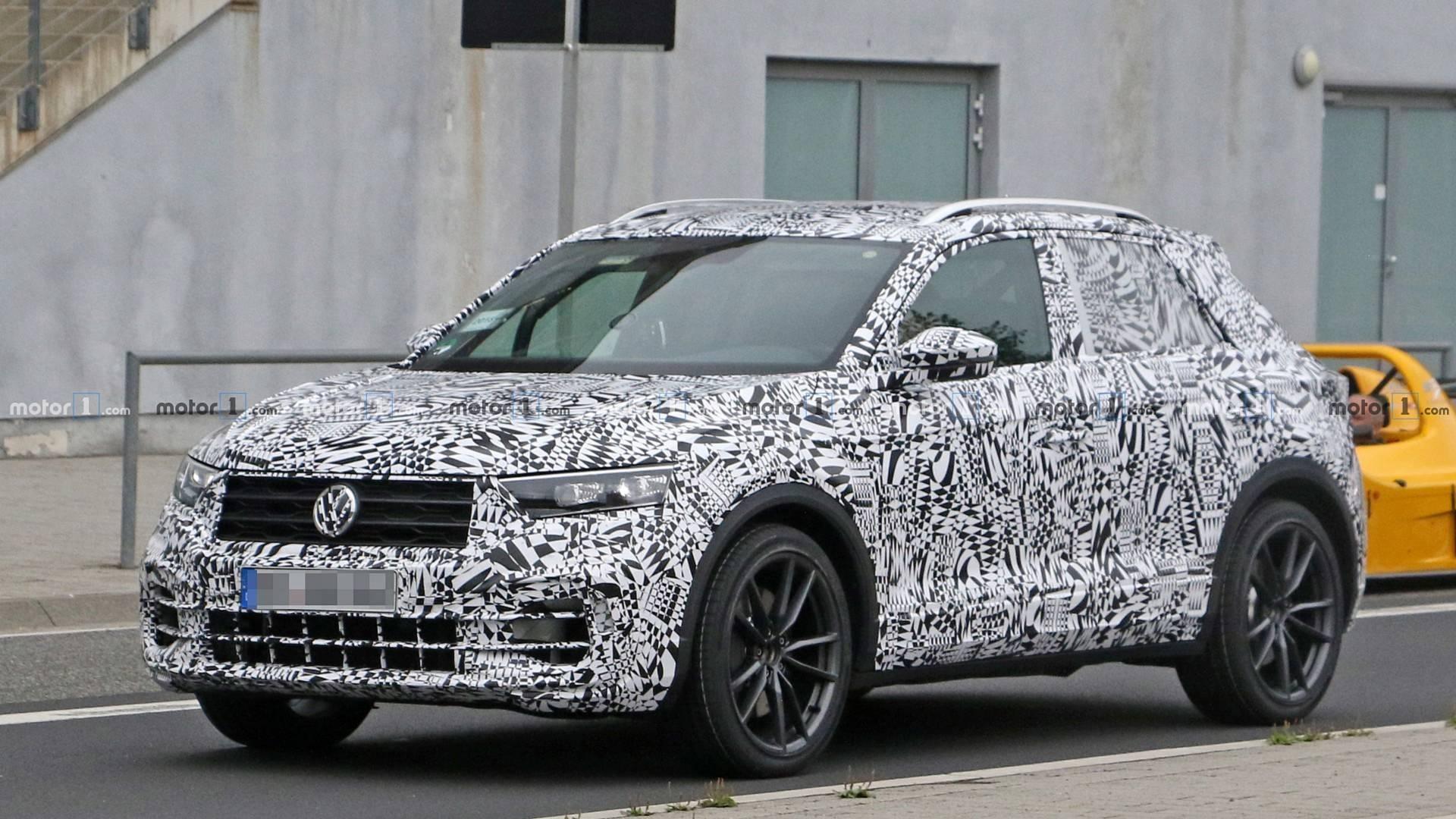Volkswagen T-Roc R покоряет Нюрнбургринг