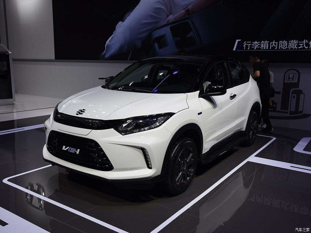 Everus VE-1 это электрический Honda HR-V для Китая