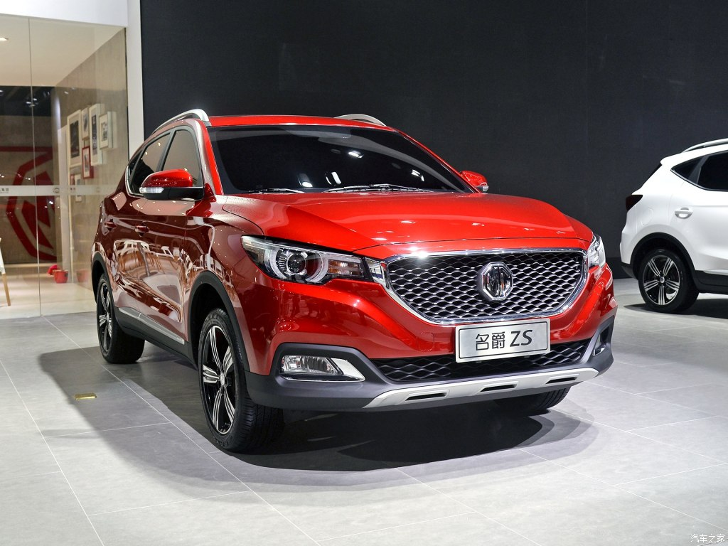 MG ZS станет электромобилем
