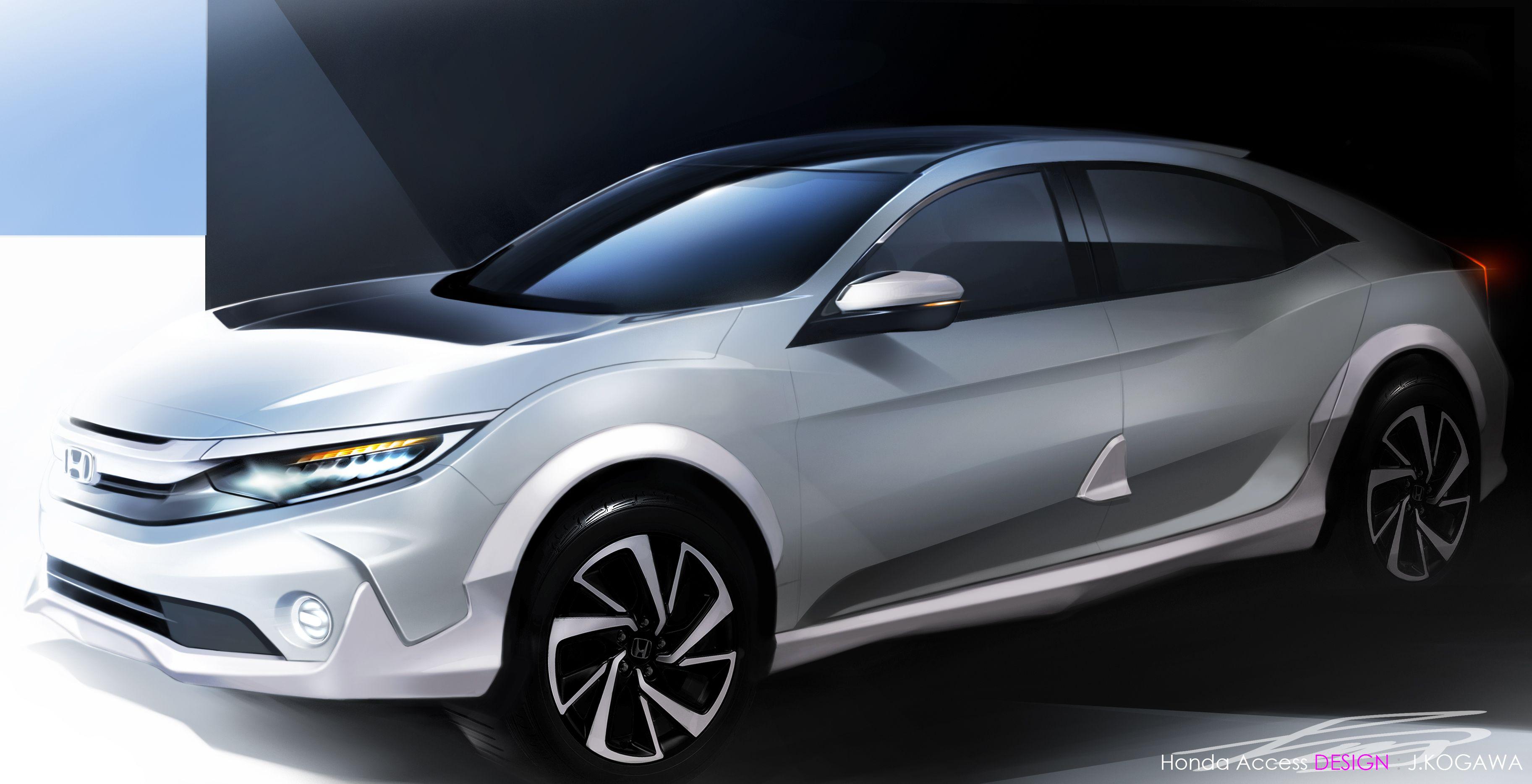 Хонда Civic получит внедорожную версию набазе концепта Versatilist