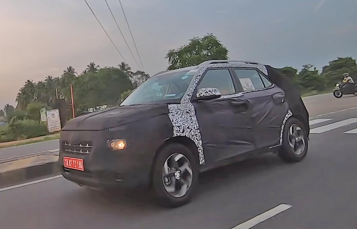 Новый кроссовер Hyundai Styx завершает испытания