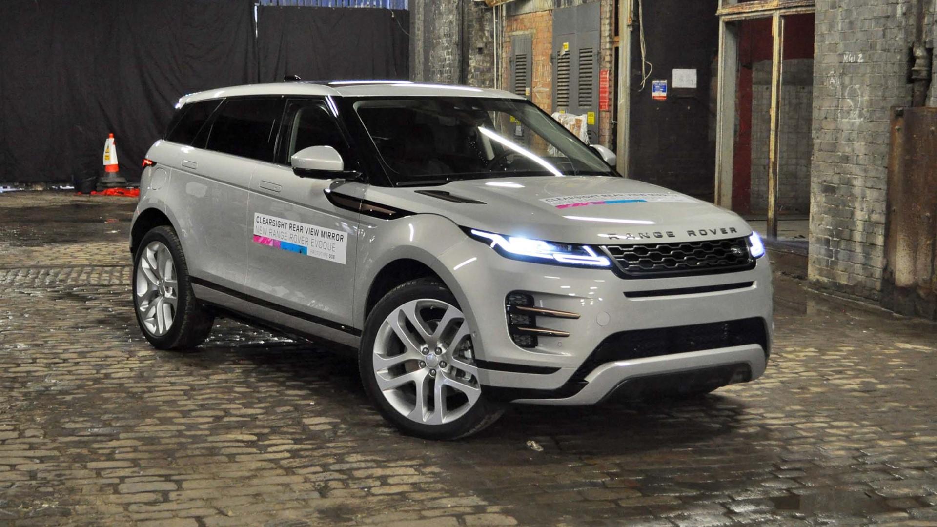 Range Rover Evoque «на батарейках» появится не скоро