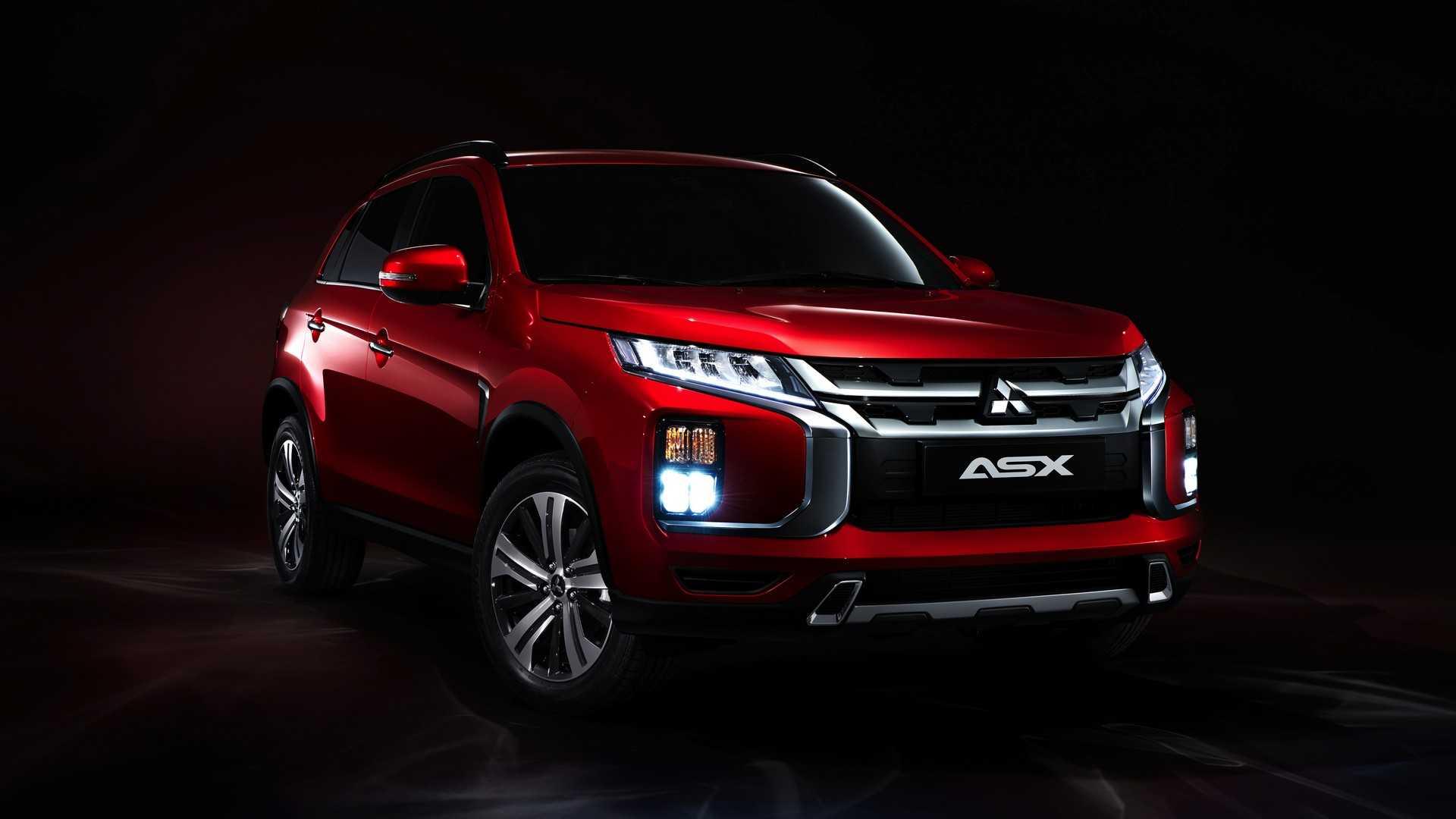 Компания Mitsubishi вновь обновила кроссовер ASX