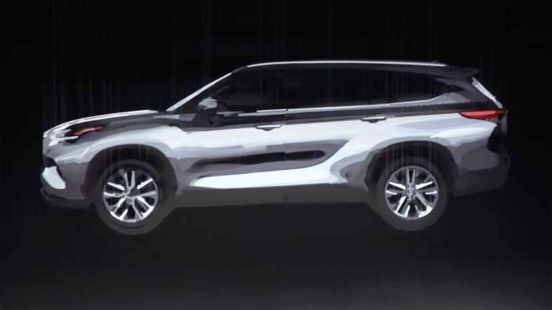 Новый Toyota Highlander мчится в Нью-Йорк!