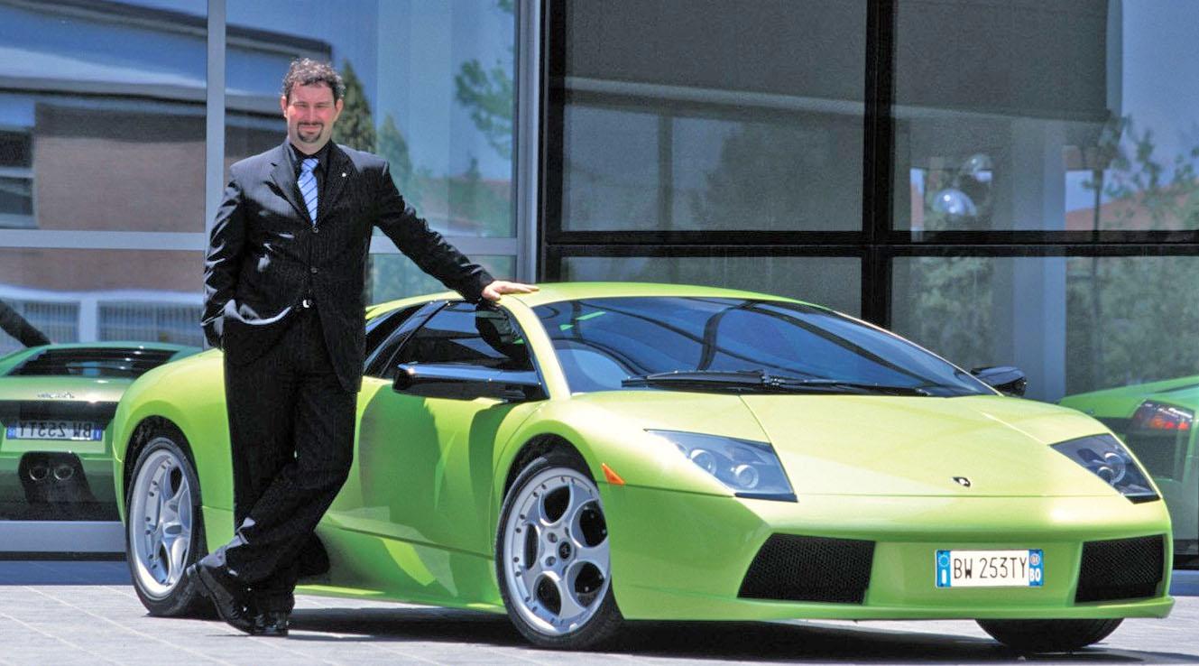 Люк Донкервольке и его детище - Lamborghini Murcielago