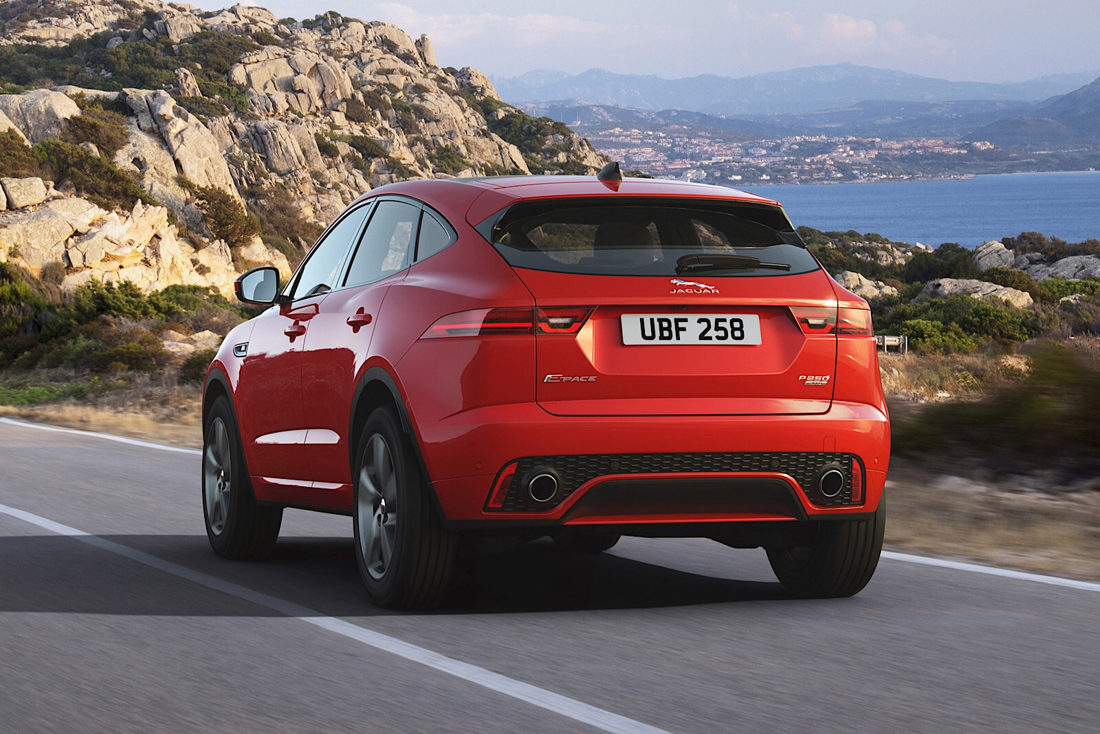 E-Pace Chequered Flag