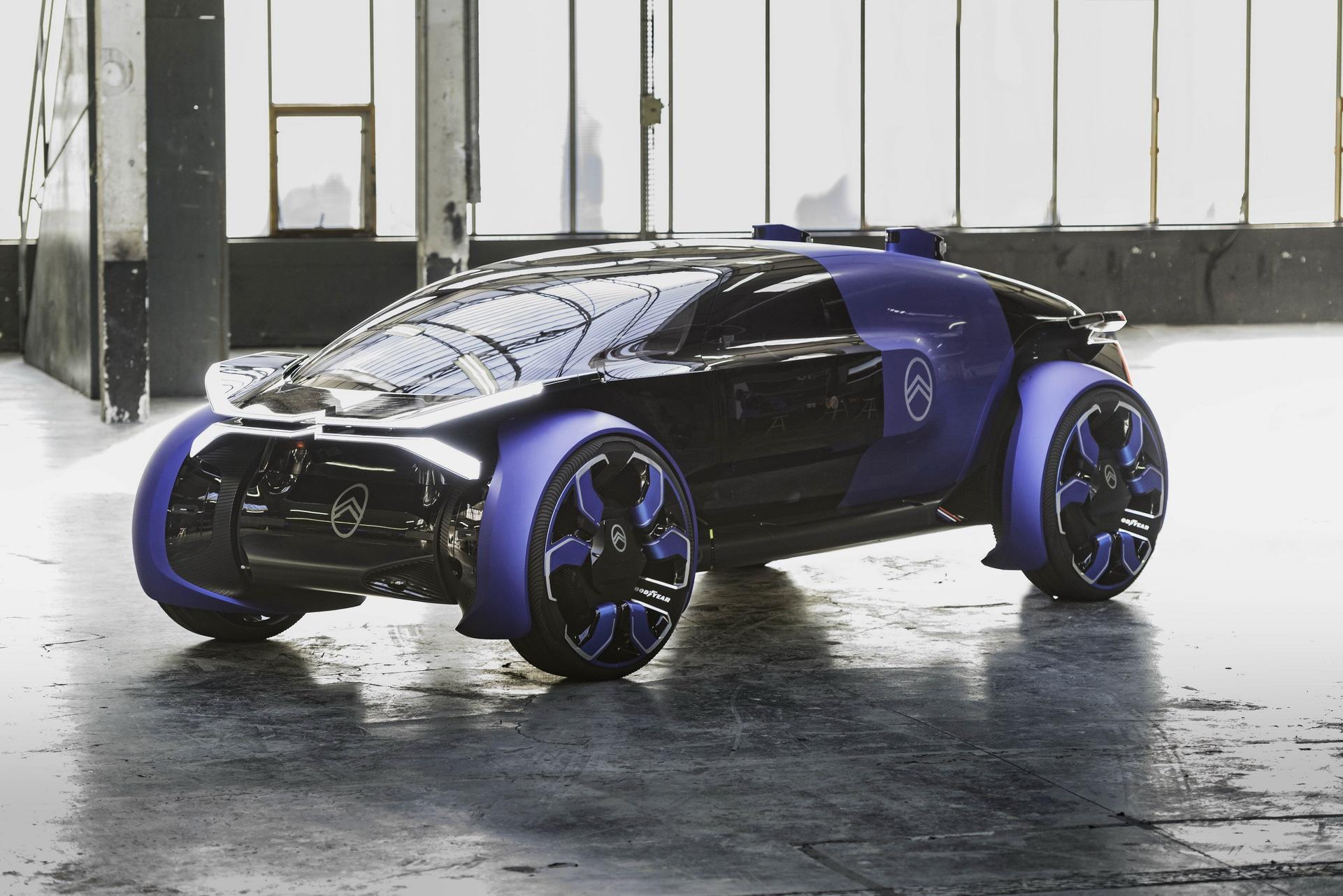 Концепт Citroen 19_19 проедет 800 км без подзарядки на 30-дюймовых колесах