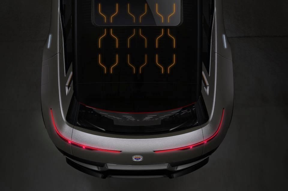 Электрический кроссовер Fisker будет впитывать энергию через крышу