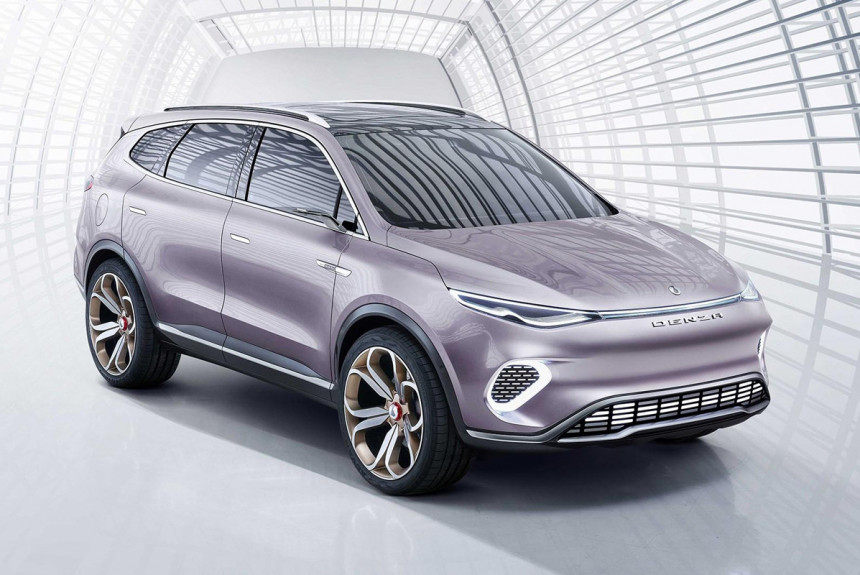 Denza Concept X от Mercedes и BYD показали в Китае