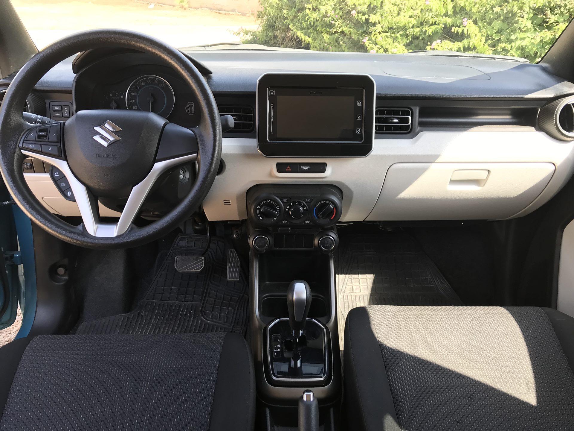 Suzuki Ignis тест-драйв