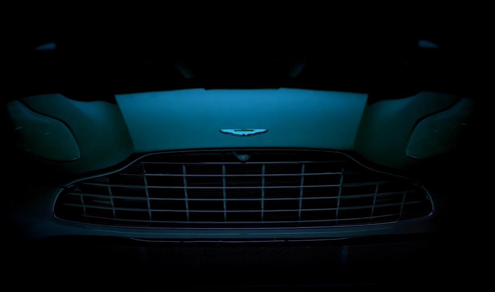 Aston Martin DBX показали на новом видео в стиле Бондианы