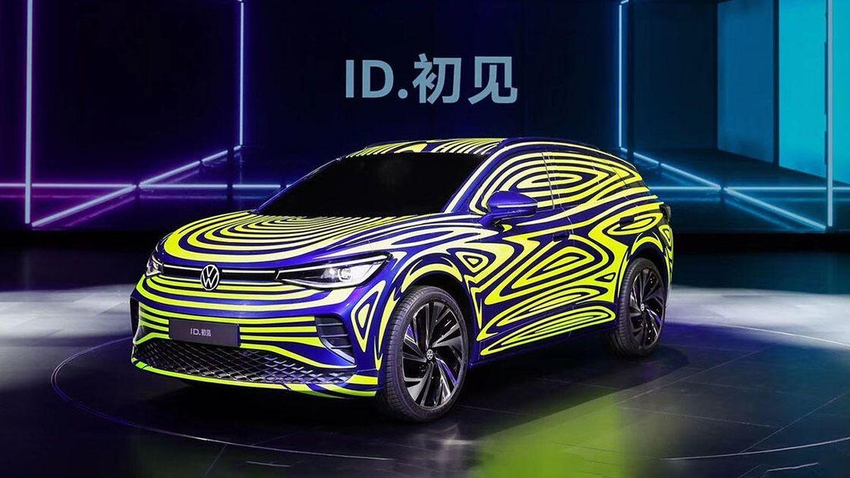Volkswagen показал первые изображения электрического ID.4