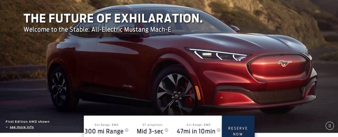 Фотографии электрокроссовера Ford Mustang Mach-E «сбежали» в интернет