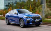 Фото нового BMW X6 F96