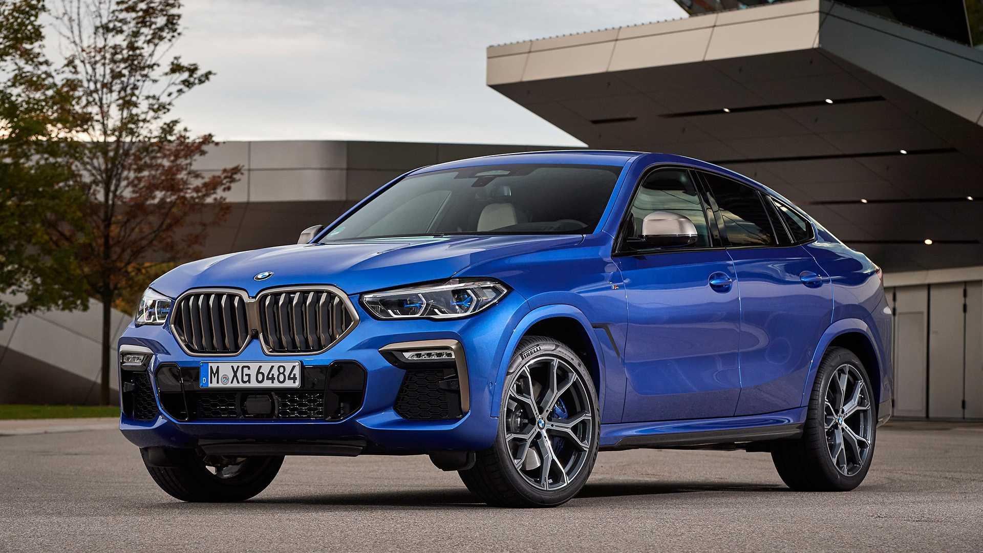 BMW X6 F96 фото кроссовера