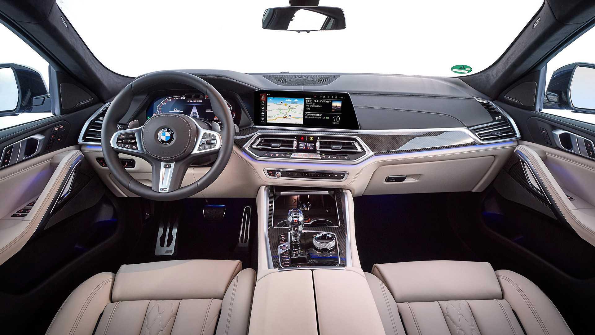 BMW X6 F96 салон