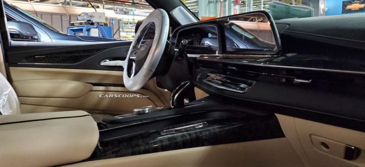Cadillac дразнит гигантским OLED 38″ дисплеем нового Escalade