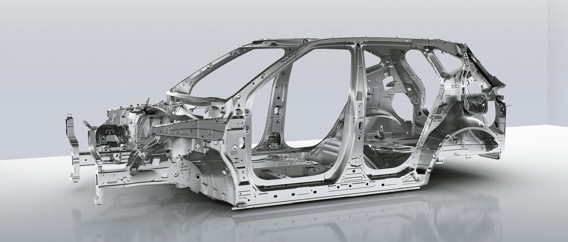 Строение кузова кроссовера КИА Селтос