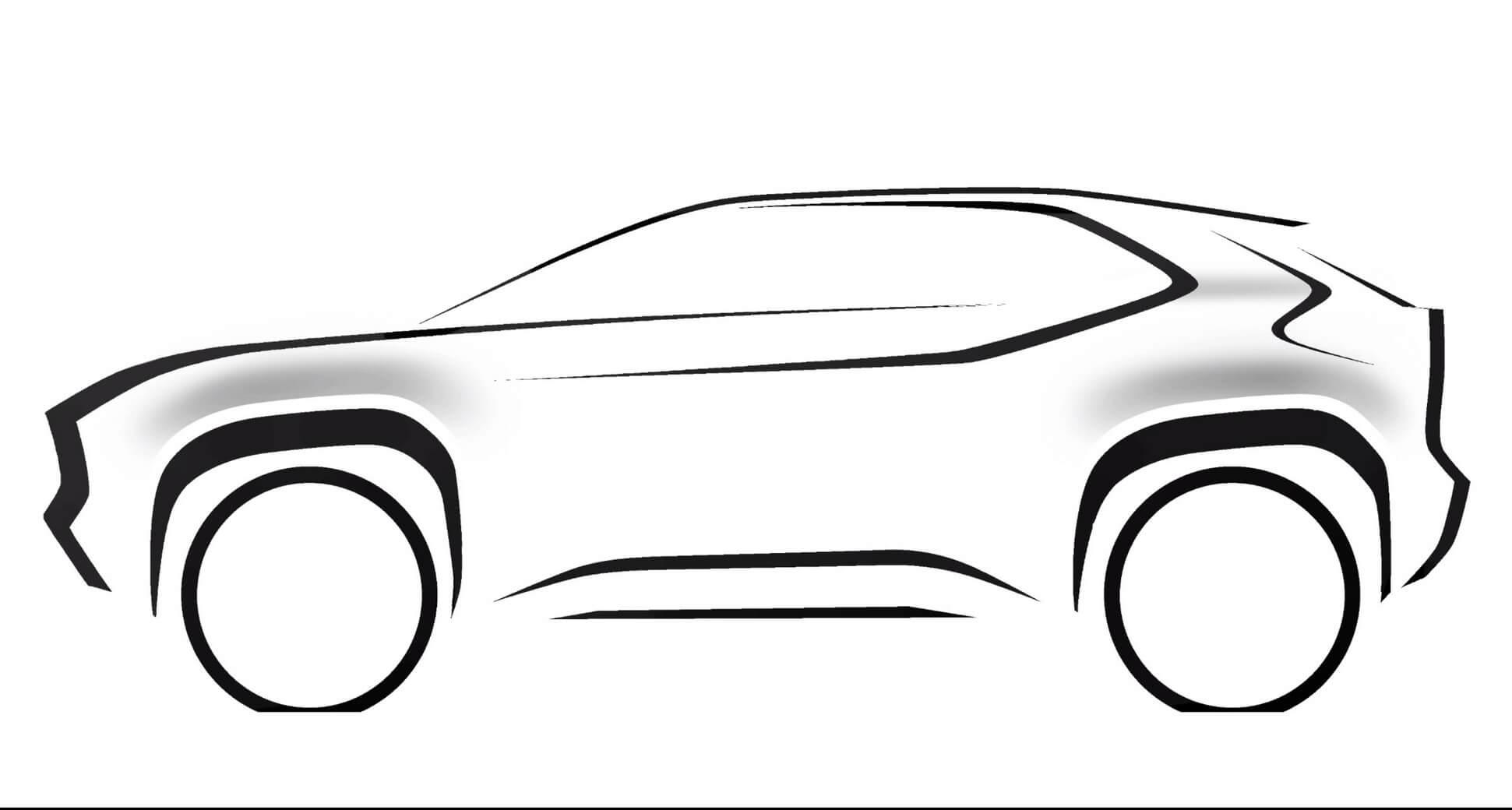 Toyota B кросс Yaris