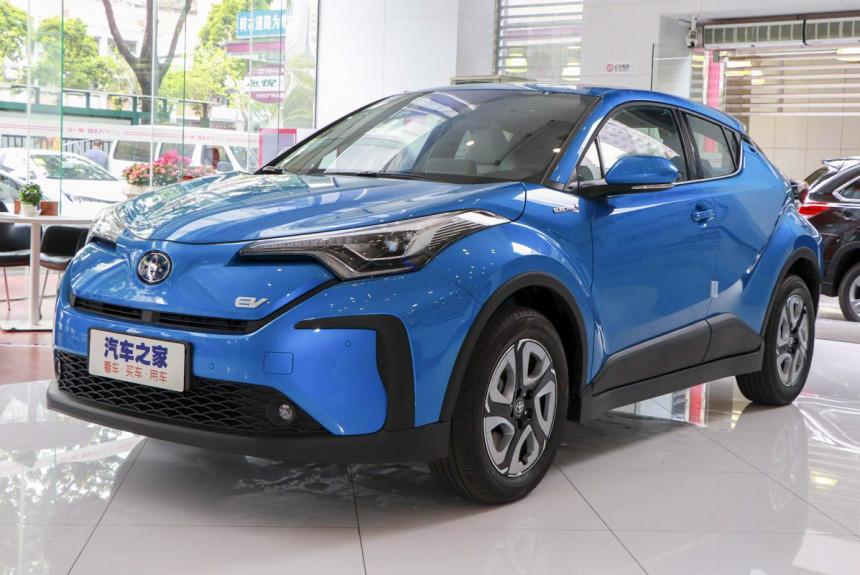 Toyota C-HR Electric