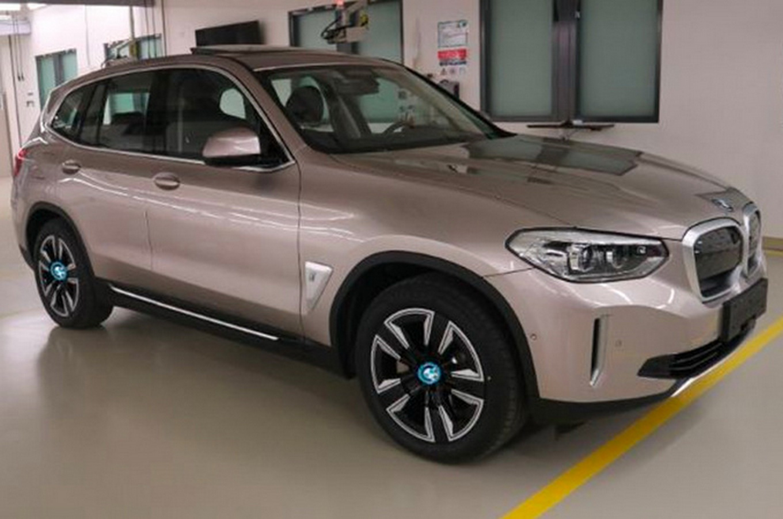 Китайцы показали «живые» фото электрического BMW iX3