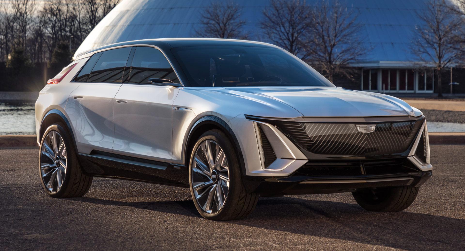 Cadillac Lyriq — новая концепция и новая энергия
