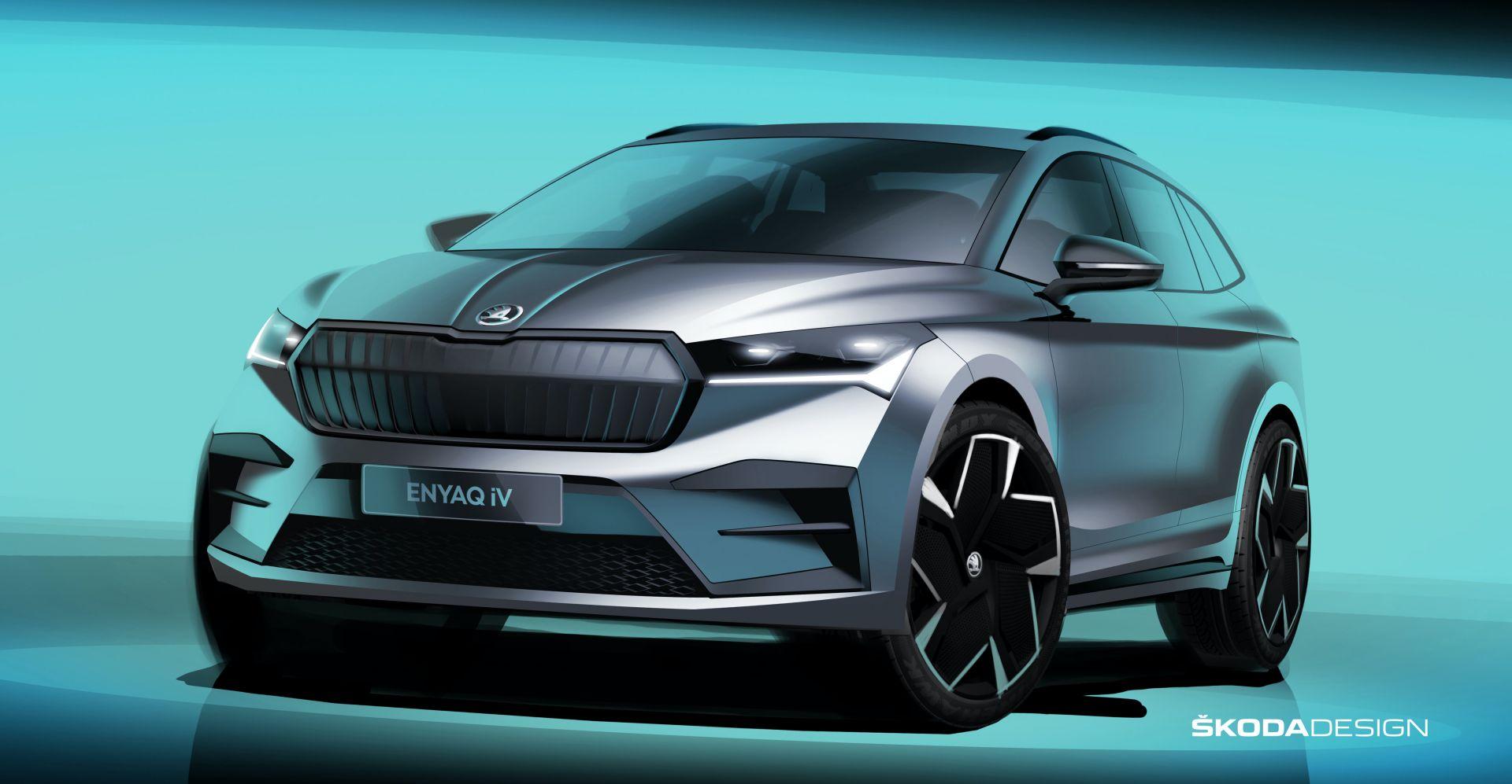 Skoda Enyaq iV — первый электромобиль марки станет самым эмоциональным
