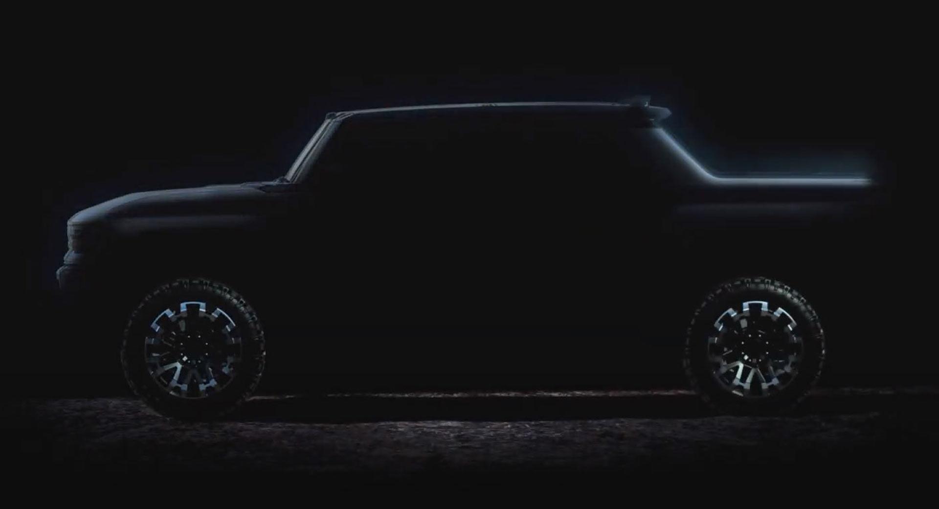 Возрожденный Детройтом Hummer сможет ездить боком